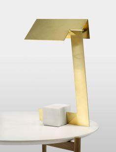 Lambert et Fils Clark Desk Lamp. x x 4 Shipping included in all Lambert et Fils purchases. Luminaire Design, Lamp Design, Bar Lighting, Lighting Design, Light Table, Lamp Light, Marble Desk, Handmade Lamps, Decoration