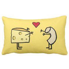 Mac and Cheese Pillow #pillows #homedecor