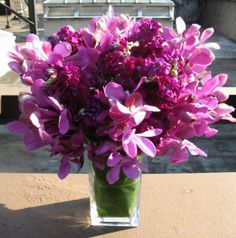 Bright purple flowers can be the perfect pick-me-up for someone in the hospital. We offer NYC flower delivery to NYC area hospitals!