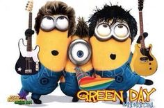Minions are changing our favourite bands to Green Day minions