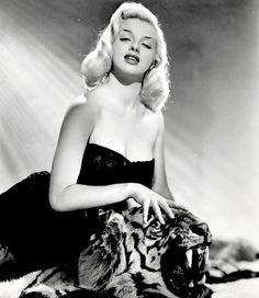 Diana Dors in the 1950s.
