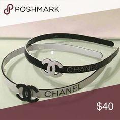 CHANEL Headband Black CHANEL Headband Black Accessories Hair Accessories