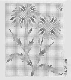 Crochet e le arti: tovagliolo stelle alpine