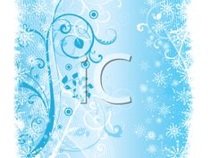 iCLIPART - Abstract winter background