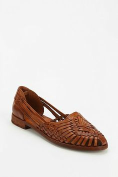 frye heather huarache flat