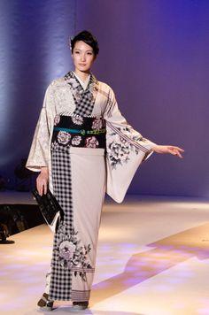 美しく先鋭的!着物ブランド「JOTARO SAITO」2015年秋コレクションをフォトレポート   ガジェット通信