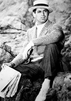 """Cary Grant in """"Notorious"""" - 1946"""