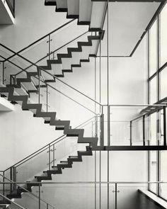 "Aage Strüwing - ""Arne Jacobsen, Rødovre Town Hall"" - 1955   EPFL Archives de la construction moderne - Lausanne"