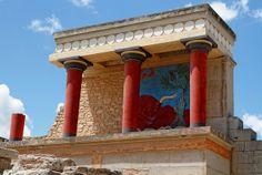 Knossos, Crete, Greece,