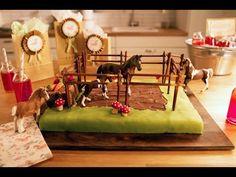 Rezept: Pferdekoppel-Geburtstagskuchen von Dr. Oetker - YouTube