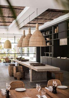 Elementos naturais na decoração é tendência para 2017  #Arquitetura #décor #Decoração #Design #Styling #Tendência