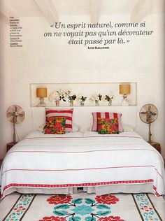 "colorful yet simple - ""Can Eu"" - Spanish top model Eugenia Silva´s home in Formentera (Spain)"