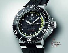 Watch Insider: My Top 10 Watches from Baselworld Watch Insider: My Top 10 Watches from Baselworld 2013 Oris Aquis Depth Gauge - Cool Watches, Rolex Watches, Unique Watches, Dream Watches, Diving Goggles, Oris Aquis, Watch Master, Monochrome Watches, Mechanical Watch