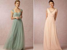 vestidos de madrinhas para casamentos na primavera publicado no blog de casamento Colher de Chá Noivas