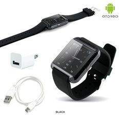 Bluetooth Smart Watch for Android Smartphones - Assorted Colors at 58% Savings off Retail!