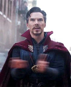 davidgilmours:Stephen Strange in Avengers: Infinity War - PintoPin Marvel Man, Man Thing Marvel, Marvel Heroes, Marvel Avengers, Marvel Doctor Strange, Doctor Stranger Marvel, Doctor Strange Quotes, Marvel Characters, Marvel Movies