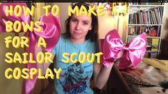 Hello sailor scouts! today I am going over how I made my bows for my Sailor Jupiter cosplay. So lets go make some really pretty, perfect folding and flowy bo...