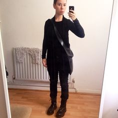 It's a dark day #ootd #wiwt #combat #nomakeup #WhatLLworeToday