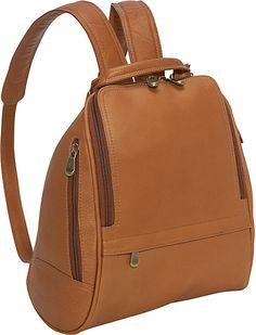 Le Donne Leather U Zip Mid Size Backpack/Purse on shopstyle.com
