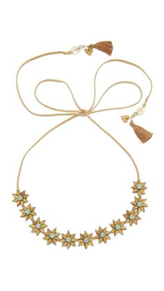 Deepa Gurnani Crystal Ginger Headband in Gold/Mint or Gun/Pink