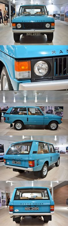 1970 Range Rover / 2015 IAA Frankfurt / blue / UK / 17-386