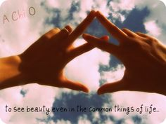 To See Beauty Even In The Common Things Of Life. A Chi O. Throw What You Know - Alpha Chi Omega