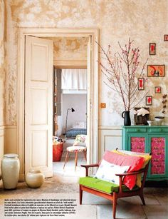 Charming Paris flat from Marie Claire Maison.. future home? sounds great.