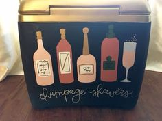 alcohol sorority cooler simple champagne showers