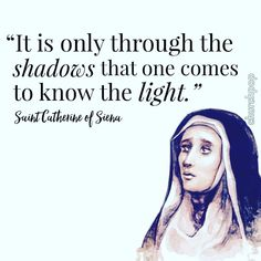 Saint Catherine of Siena, PRAY FOR US! // #churchpop #sundayfunday #feastday #stcatherineofsiena #sainthood #churchpoplive Spiritual Warrior, Spiritual Growth, St Mary Of Egypt, Miscarriage Quotes, Christian Mysticism, St Catherine Of Siena, Saint Dominic, Saint Quotes, Catholic Quotes