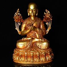 Chinese Antique Tibetan Buddhism old copper hand-set gemstone incense burner