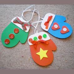 Squish Preschool Ideas: Easy Mitten Craft to Decorate Classroom or Class/Office Tree
