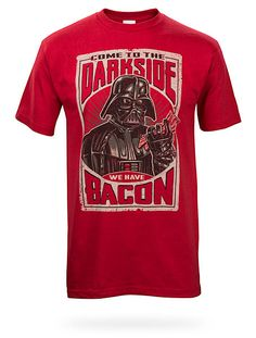 ThinkGeek :: Come To The Dark Side We Have Bacon @Tracy Gibson
