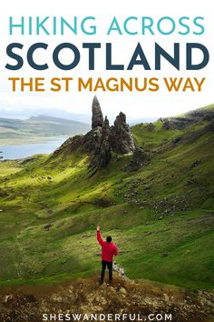 The St Magnus Way is one of the most beautiful hikes in Scotland, taking travelers across the Orkney islands. Find all the info you need to start planning your Scottish hike from Egilsay to St Magnus Cathedral. | Scotland hikes | Hiking trails in Scotland | Scotland travel guide | Long distance hiking guide | Scotland travel ideas Scotland Hiking, Scotland Travel Guide, Scotland Road Trip, Travel Tips For Europe, Hiking Europe, Road Trip Europe, Italy Travel Tips, Travel Destinations, Hiking Guide
