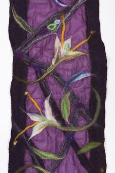 Nuno felting, gorgeous, have to try this