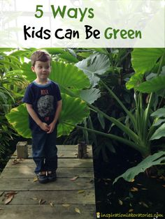 Helping kids learn about protecting our planet is important. Here are 5 easy ways kids can be green sponsored by Energizer #BringingInnovation #ad