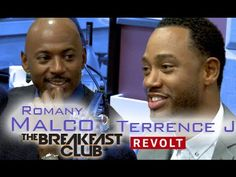 Romany Malco and Terrence J Interview at The Breakfast Club Power 105.1 ...