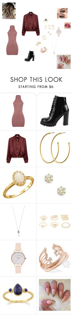 Bar Hopping by evangalina on Polyvore featuring Mulberry, Jeffrey Campbell, Kendra Scott, Marc Jacobs, Olivia Burton, Lazuli, Dyrberg/Kern and Charlotte Russe