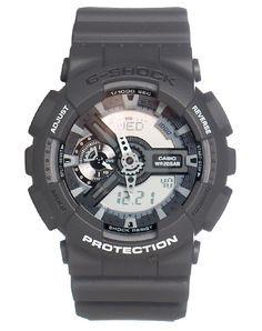 Grey G-Shock Watches Amazing Watches, G Shock Watches, Casio Watch, Grey, Gray