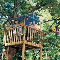 """Build the Ultimate Tree House"" from the blog Spoonful"