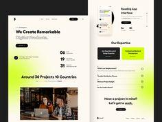 O Design, Web Design Trends, Ui Ux Design, Interface Design, Clean Design, User Interface, Graphic Design, Mobile Web Design, Magazine Layout Design
