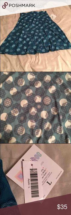 Lularoe azure skirt Brand new with tags Lularoe azure skirt LuLaRoe Skirts
