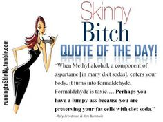 diet soda. Loved this book!