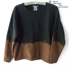 Women Sweatshirt  Ladies sweatshirts Black Sweatshirt by Styleon