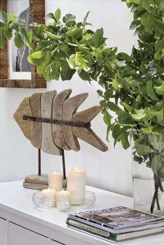 I love fish sculpture