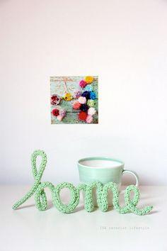 Crochet words