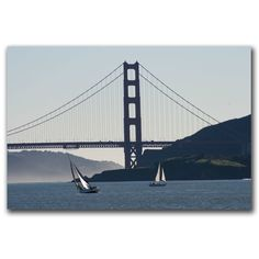 Golden Gate Sailing by Colleen Proppe Painting Print on Canvas