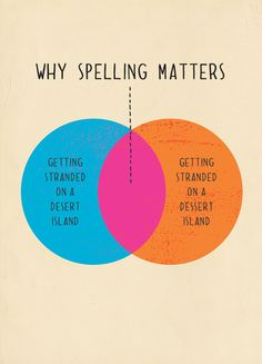 Why spelling matters. School Library Displays, 8th Grade Ela, Sweet Memes, Grammar Humor, Smart Girls, Laugh Out Loud, Spelling, I Laughed, Quotes To Live By