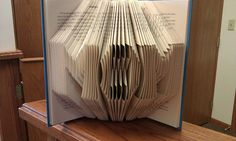 Folded Book Art  MOM  Made to order by MissArtsyCraftsy on Etsy, $18.00