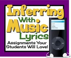 INFERENCE & PREDICTIONS: Using Music To Teach Inferential Thinking