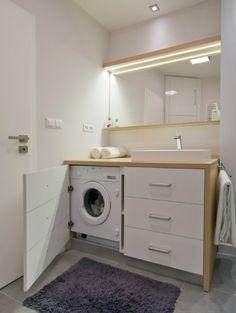 Renovating Your Bathroom Idea Washing Machine Badezimmer Unterschrank Renovieren Waschraum Bad